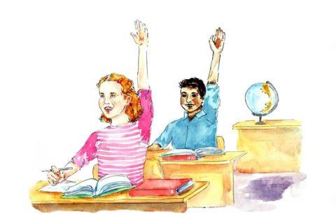 international school classroom