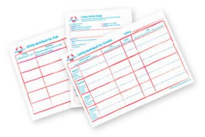 Family Safety Worksheets